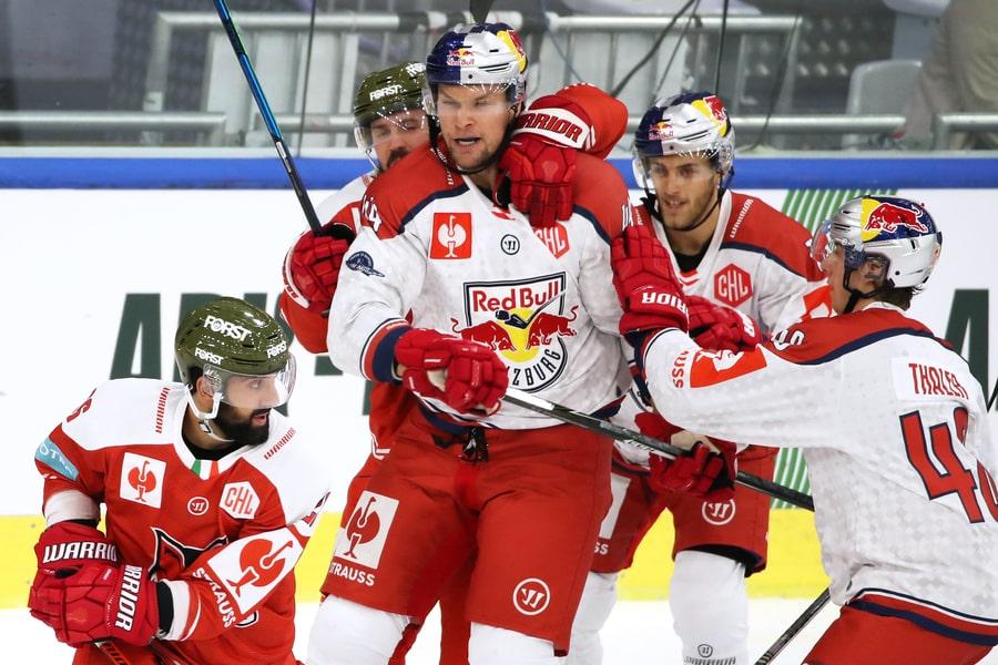 Bozen geht nach CHL-Fight gegen Salzburg als Favorit um Tabellenführung ins Rückspiel.