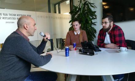 Eishockey-Online zu Gast beim Münchener Eishockey Podcast Puck Ma's.