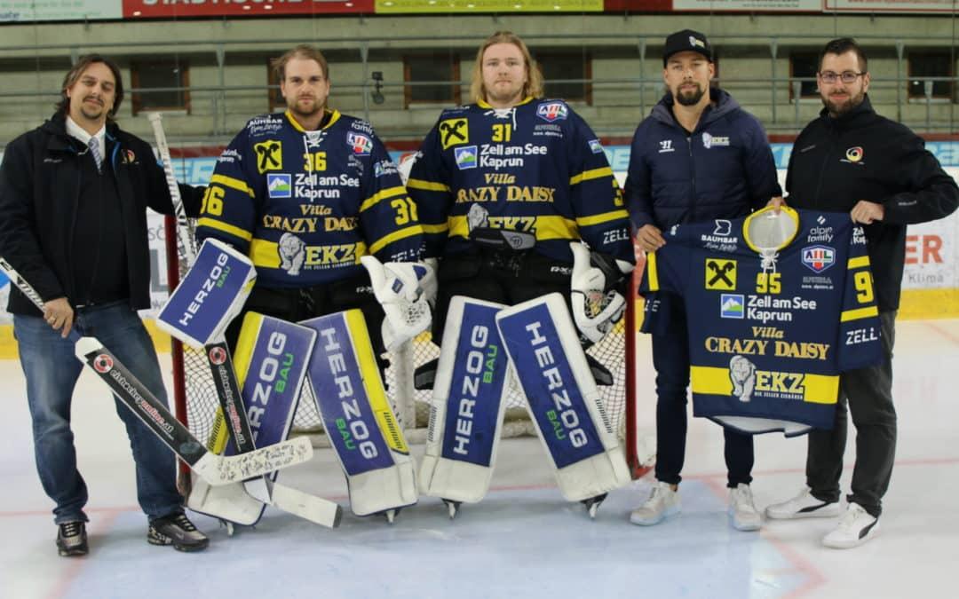 Eishockeyonline.at und EK Zeller Eisbären starten gemeinsame Zusammenarbeit.