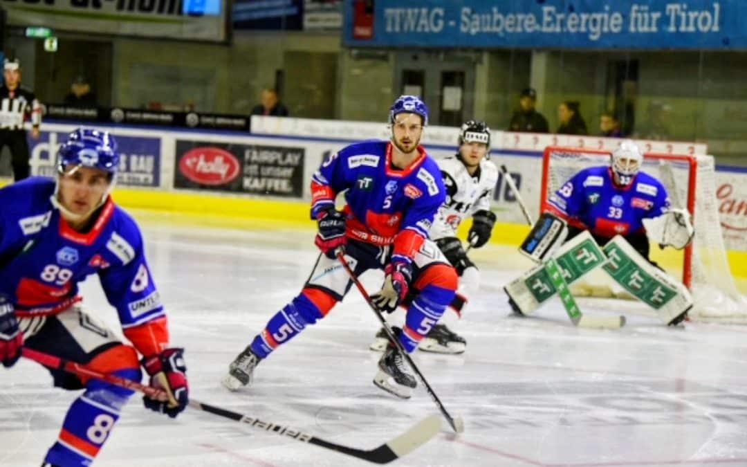 Haie Innsbruck siegen auch gegen Orli Znojmo.
